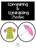 Compare and Contrast Freebie