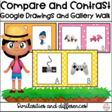 Distance Learning Compare and Contrast Activity