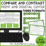 Compare and Contrast Game | Compare and Contrast Activity