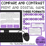 Compare and Contrast Game | Compare and Contrast Center