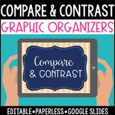Compare and Contrast Graphic Organizers: Google Edition