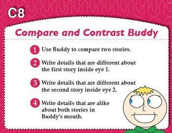 """Compare and Contrast """"Buddy"""" (Common Core RL & RI 1.9, RL & RI 2.9, RL & RI 3.9)"""