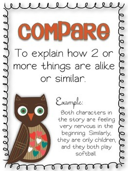 Compare and Contrast Graphic Organizer Pack FREEBIE