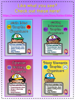 Compare and Contrast Graphic Organizers- $1.00 ONLY!