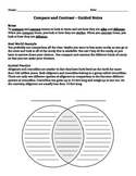 Compare and Contrast Guided Notes
