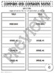 Compare and Contrast Guided Reading Packet