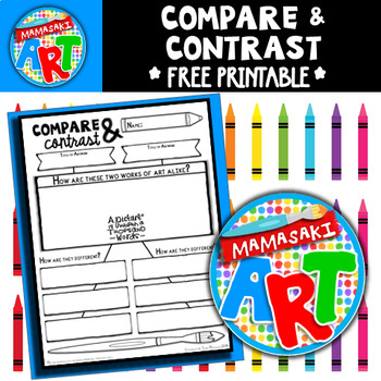 compare and contrast of 2 art This essay compares and contrasts these two art periods with respect to the major works  a compare and contrast essay is a form of academic writing that is built.