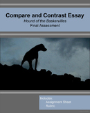 Compare and Contrast: Hound of the Baskervilles