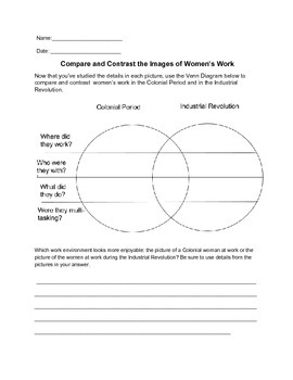 Compare and Contrast Exercises with Historic Images