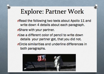 Compare and Contrast Informational Text TN Ready