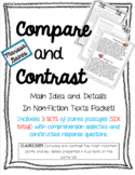 Compare and Contrast Informational Texts {Paired Passages}