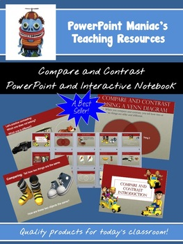 Compare and Contrast PowerPoint and Interactive Notebook File