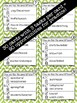 Compare and Contrast Interactive Task Cards - Vocabulary