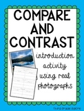 Compare and Contrast - Introduction activity using real photographs