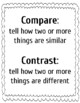 Compare and Contrast Packet and Exercises