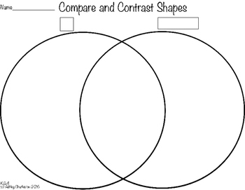 Compare and Contrast (K.G.4) #1/square and rectangle