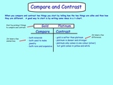 Compare and Contrast Lesson/Graphic Organizers(Smart Notebook File)