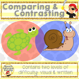 Comparing and Contrasting: Leveled