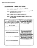 Compare and Contrast Linear Inequalities