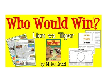 Compare and Contrast (Lion VS Tiger)