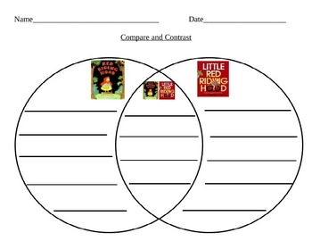 Compare and Contrast Little Red Riding Hood