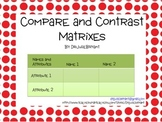 Compare and Contrast Matrixes