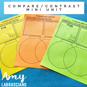 Compare and Contrast Mini Unit