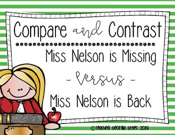 Compare and Contrast [Miss Nelson]