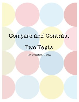 Compare and Contrast Moose and Reindeer 2 texts
