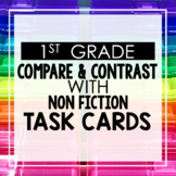 Compare and Contrast Non Fiction 1st Grade Reading Toothy®