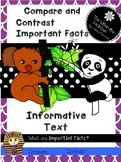 Compare and Contrast Non-Fiction 2nd and 3rd Grades