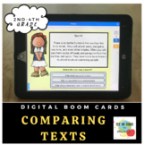 Compare and Contrast Non-Fiction Text- Boom Cards- Digital Learning