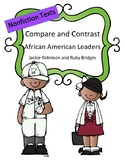 Compare and Contrast: Nonfiction (African American Leaders)