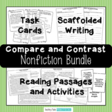 Compare and Contrast Unit & Nonfiction Bundle - With Informational Texts