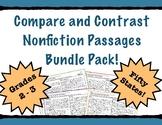 Compare and Contrast Nonfiction PRACTICE & PROGRESS MONITO