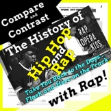 Compare & Contrast Nonfiction Passage, History of Hip Hop Music Lesson & Song