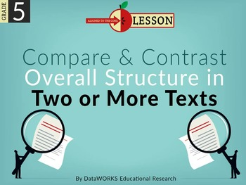Compare and Contrast Overall Structure in Two or More Texts