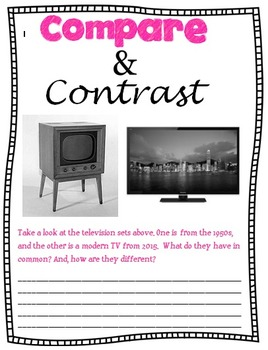 Compare and Contrast Packet.Matches Common Core standards 3rd-5th