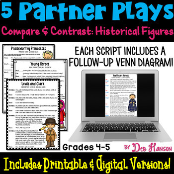 Compare and Contrast Partner Plays