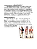 Nonfiction Text Structure - Compare and Contrast, Sequence, Battle of Yorktown