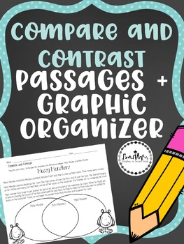 Compare and Contrast Passage: Messy Monsters