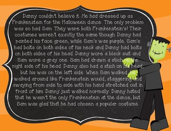 Compare and Contrast Passages (Halloween Edition)