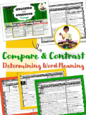 Reading Comprehension Compare and Contrast Passages  RL3.9  RI3.9