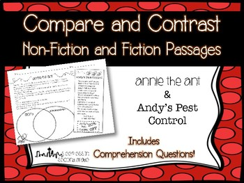 Compare and Contrast Passages: Annie the Ant