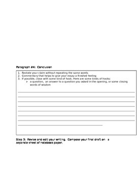 Compare and Contrast Performance Task