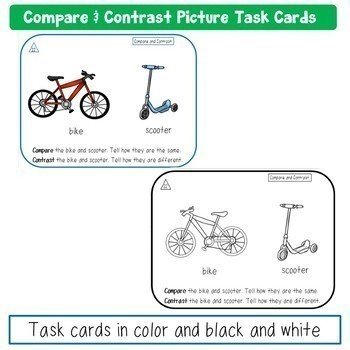 Compare and Contrast Picture Task Bundle
