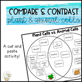 Compare and Contrast Plant & Animal Cells
