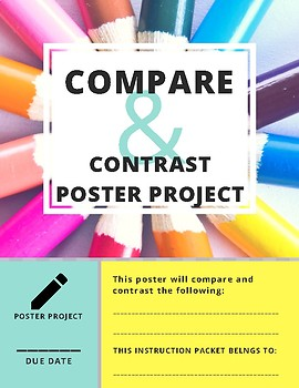 Compare and Contrast Poster Project