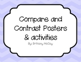 Compare and Contrast Posters and Activities