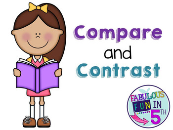 Compare and Contrast PowerPoint and Practice Pages